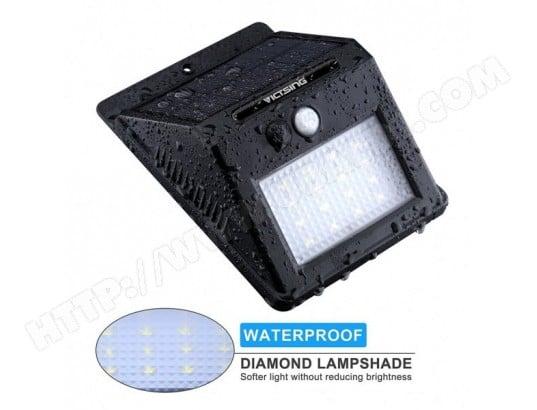 16 Led 320 Lumens Lampe Solaire Exterieure Avec Capteur