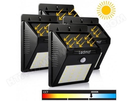 À Etanche Led 20 Lampe De Solaire 4 Mouvement Pack Détecteur vmw8Nn0