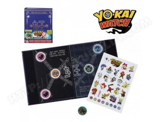 Yo-Kai Album collection de médailles 20x27 ALPEXE MA-73CA368YO-K-6CBNO