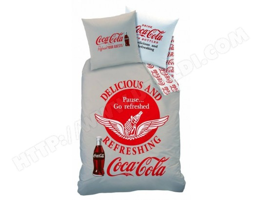 Parure De Lit Housse De Couette CTI Parure Hdc X To Coca - Parure de lit pas cher 200x200