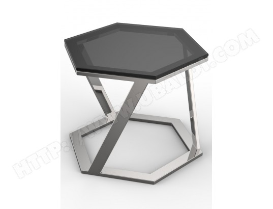 table dappoint ub design tiny bout de canap gris fum - Bout De Canape Design
