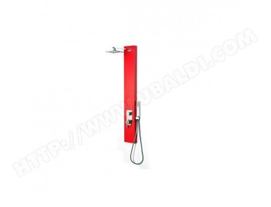 Colonne de douche hydromassante rouge trendy miliboo 16385 - Colonne de douche hydromassante pas cher ...