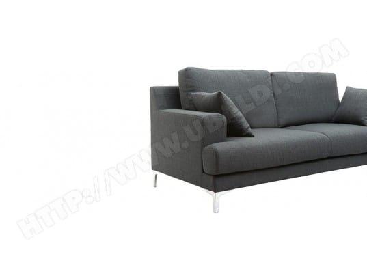 6eeb186ac225fc Canapé design 3 places tissu gris foncé BOMEN MILIBOO MA-78CA93 CANA-TAAEE