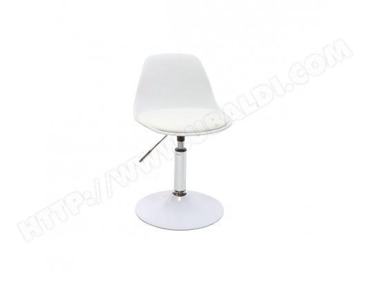MILIBOO Chaise de bureau design enfant blanche STEEVY MA 78CA456CHAI 9J69G