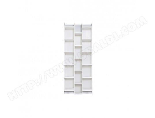 biblioth que design bois blanc climb miliboo ma 78ca43. Black Bedroom Furniture Sets. Home Design Ideas