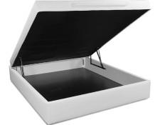 sommier 160 x 200 ub design lit coffre lo 160x200 blanc - Lit Coffre Pas Cher