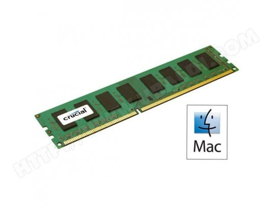 CRUCIAL for Mac 16 Go DDR3 1866 MHz ECC CL13 CRUCIAL CT16G3R186DM