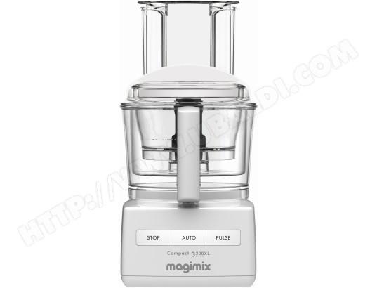 61b6124dc5710 MAGIMIX 18360F Compact 3200 XL blanc Pas Cher - Robot culinaire ...