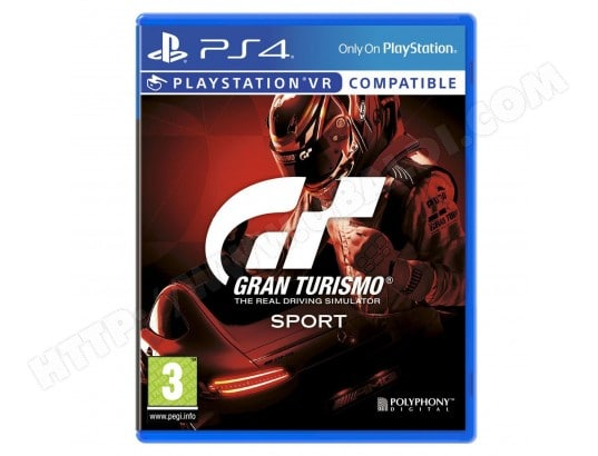 Sony Computer Entertainment Gran Turismo Sport (PS4) SONY 711719827757