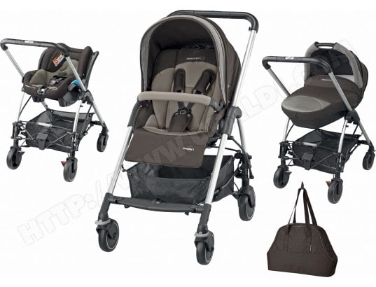 BEBE CONFORT Trio Streety Next earth brown 2015 Pas Cher