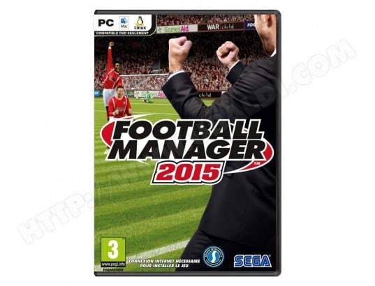 Football Manager 2015 (PC/MAC) SEGA MA-48CA349FOOT-V5LP8