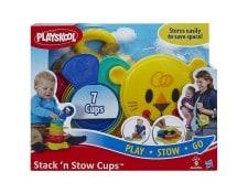 Playskool - Gobelets Stack 'N Stow PLAYSKOOL MA-70CA310PLAY-72KKZ