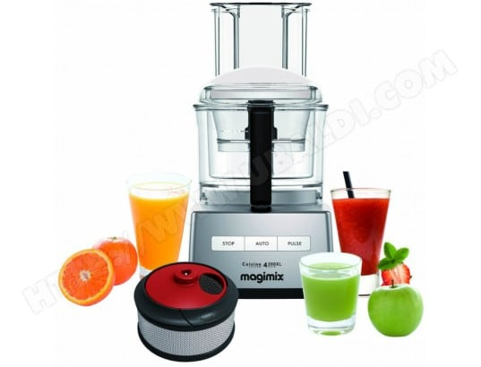 Robot culinaire MAGIMIX 85416F CS 4200 XL chrome mat+ coffret SmoothieMix