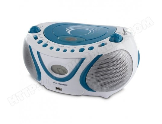 Radio CD-MP3 FM Wave avec port USB METRONIC MA-19CA49_RADI-S2NSB