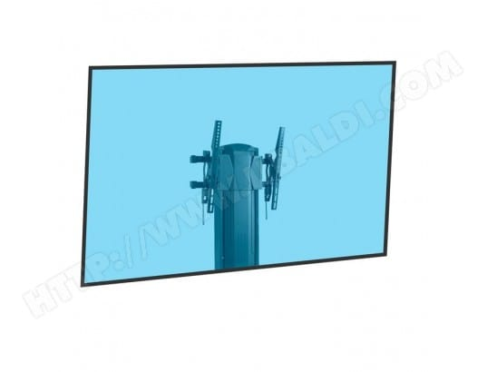 Support mural coulissant vertical pour écran TV LCD LED 37''-60'' KIMEX 018-1064