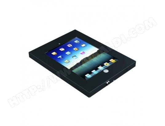 Support antivol pour tablette IPAD 2/3/4/5/6/Air, Noir KIMEX MA-76CA332SUPP-D8FWR