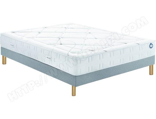 ensemble matelas sommier 90 x 200 bultex lit inovo 9500 90x200cm pieds. Black Bedroom Furniture Sets. Home Design Ideas