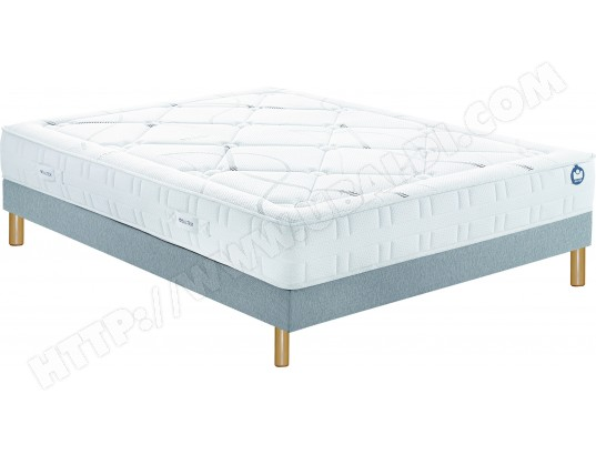 ensemble matelas sommier 140 x 200 bultex lit inovo 9500 140x200cm pieds. Black Bedroom Furniture Sets. Home Design Ideas