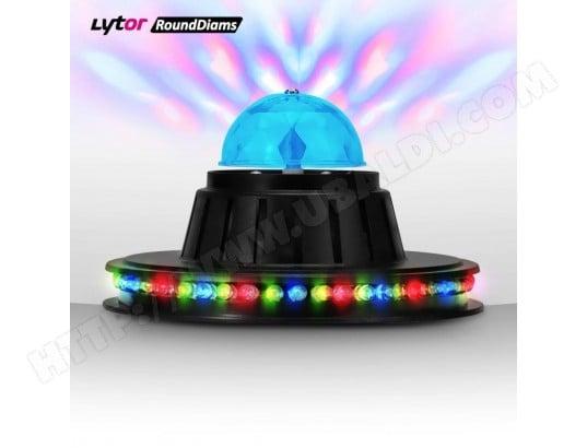 Roundiams De 3x1w Lytor Lumière Jeu Friztal 360° Effet Rotatif xWCerQBod