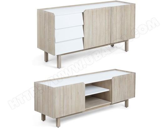 bahut lf ensemble bahut meuble tv 160cm tropea pas cher. Black Bedroom Furniture Sets. Home Design Ideas