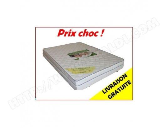 Lit 1 Personne Sommier Matelas 90 X 190 Cm France Matelas Ma
