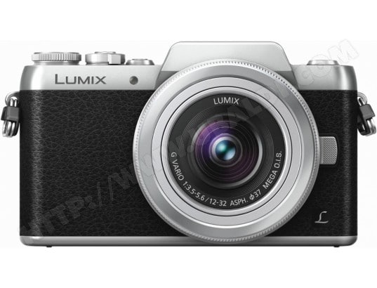 Appareil photo Hybride PANASONIC Lumix DMC-GF7KEF-S noir silver + 12-32 mm