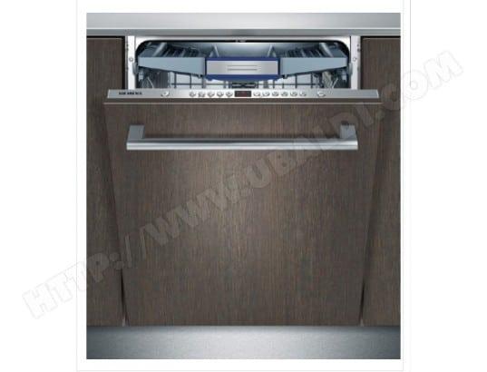 siemens sn65m091eu lave vaisselle tout integrable 60 cm siemens livraison gratuite. Black Bedroom Furniture Sets. Home Design Ideas