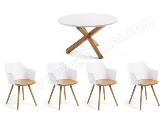 Ensemble Table Et Chaises Lf Ensemble Table Nori Chaises Klam