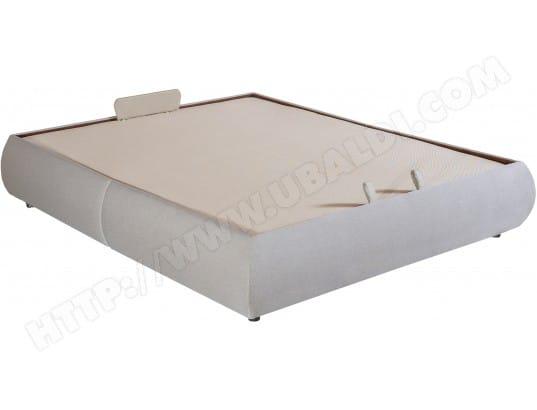 sommier 160 x 200 epeda lit coffre volupta 160x200 beige pas cher. Black Bedroom Furniture Sets. Home Design Ideas
