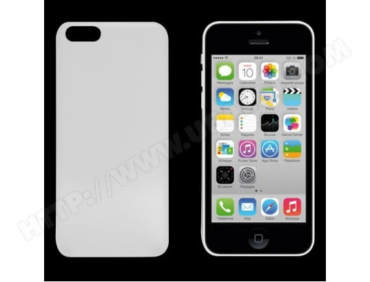 MOOOV - Coque silicone iPhone 5C MA-79CA500COQU-K703T