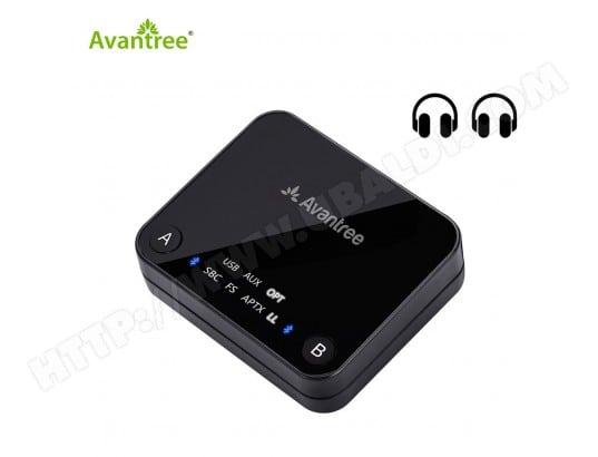 Transmetteur Bluetooth 42 Avantree Bttc 418 Blk Audikast