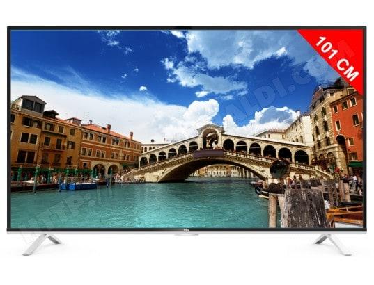 tcl u40s6806s tv led 4k 101 cm livraison gratuite