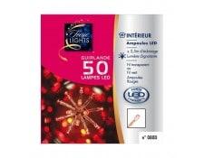 f4d9a0370706ab Guirlande électrique intérieure 50 LED rouges fil transparent FEERIC LIGHTS  AND CHRISTMAS JJ875050DTRANS