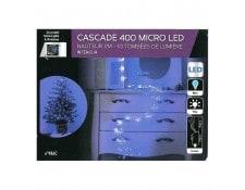 83ea7038b52434 Guirlande copper cascade 400 LED bleues FEERIC LIGHTS AND CHRISTMAS  JJ877111C