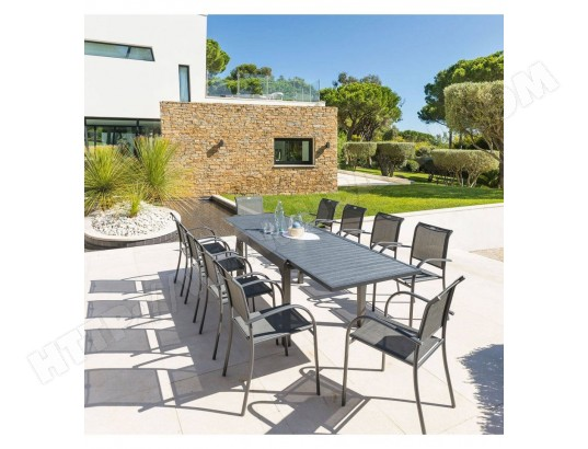 extensible composite Piazza Table 10 places anthracite mN80wvn