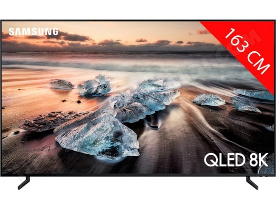 TV QLED 8K 163 cm SAMSUNG 65Q900R, Ecran Quantum Dot, Smart TV