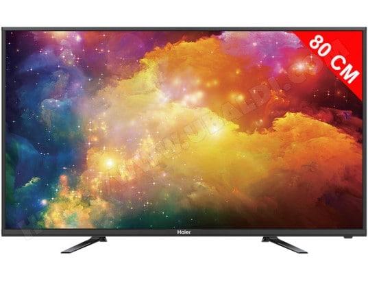 haier le32b8000t tv led 80 cm livraison gratuite. Black Bedroom Furniture Sets. Home Design Ideas