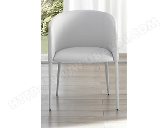 Fauteuil DOMINO Candy fauteuil blanc