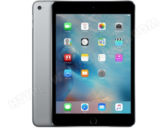 iPad mini Retina APPLE iPad mini 4 Wi-Fi 128Go gris sidéral