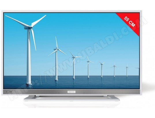 TV LED Full HD 55 cm GRUNDIG 22VLE5520WG - 12 Volts