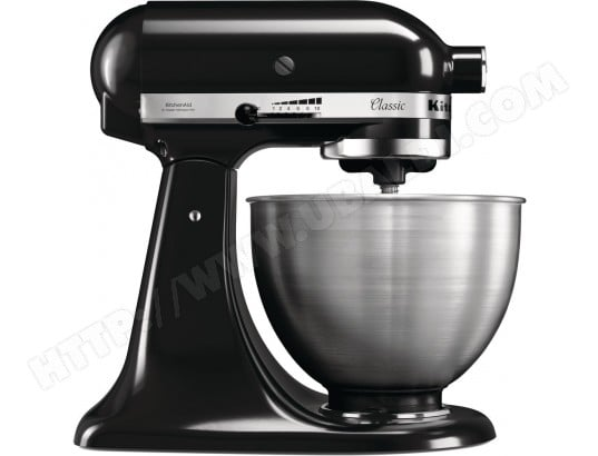 kitchenaid robot p tissier multifonction 4 3 l classic 5k45ss pas cher robot culinaire. Black Bedroom Furniture Sets. Home Design Ideas