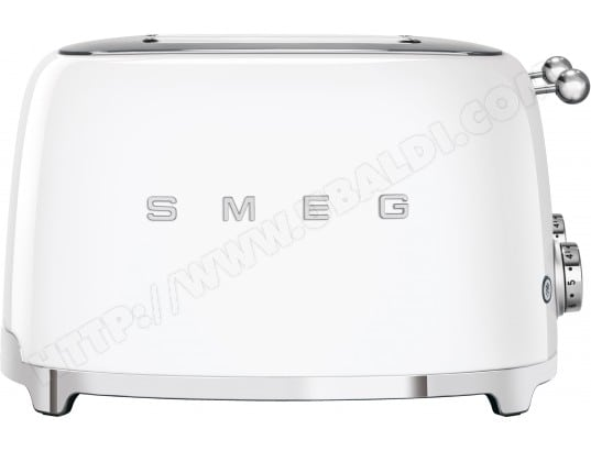 Grille pain SMEG TSF03WHEU 4 tranches blanc