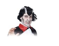 Déguisement d Halloween - Perruque homme Vampire - Noir et blanc URBAN  LIVING MA- f1d2ae835e1