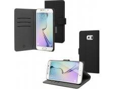 10f58ac85f014a Etui MUVIT Etui Folio noir pour Samsung Galaxy S6 Edge Plus