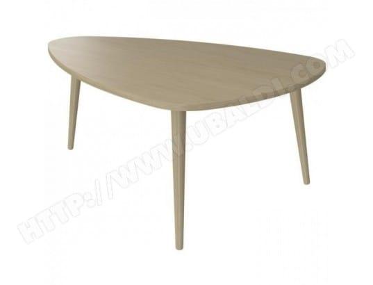 Finlandek Table Basse Pilvi Style Contemporain Blanc Et Gris Foncé