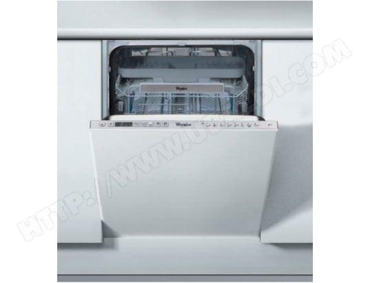 whirlpool adg562x lave vaisselle tout integrable 45 cm. Black Bedroom Furniture Sets. Home Design Ideas