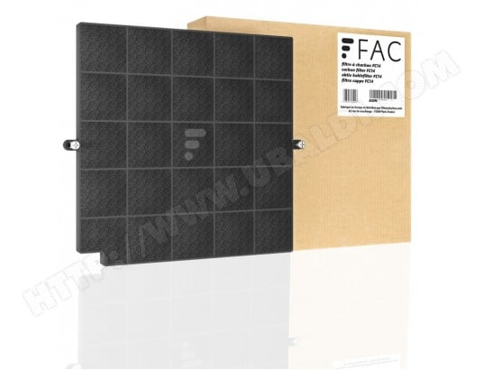 FC14 - Filtre à charbon compatible hotte Elica Kit Filter Cloud Nine CFC0010590 ELICA MA-11CA288FC14-WH9NU