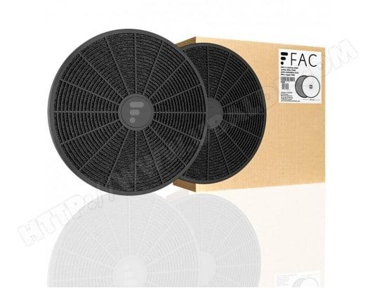 Filtre charbon 285 x 175 x 40mm Type 37 pour Hotte