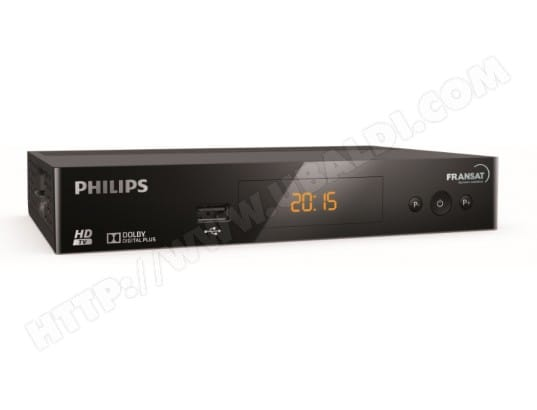 Décodeur satellite TNT HD PHILIPS DSR3031F - FRANSAT