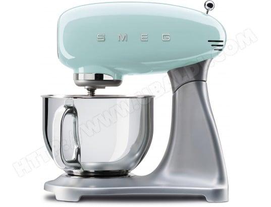smeg smf01pgeu vert d 39 eau pas cher robot culinaire livraison gratuite. Black Bedroom Furniture Sets. Home Design Ideas